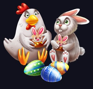 Hello Easter couple