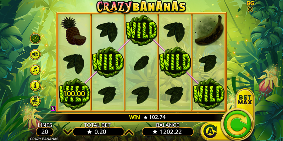 Spiele Crazy Bananas - Video Slots Online