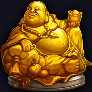 dragon's power buddha