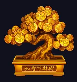 lucky lucky coin tree