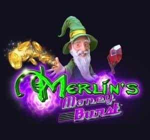 Merlin's Money Burst logo