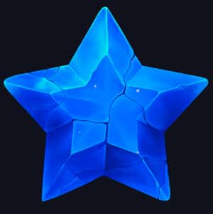 space spins star